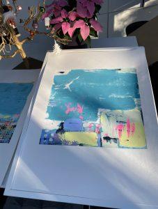 Monotype Screen Print